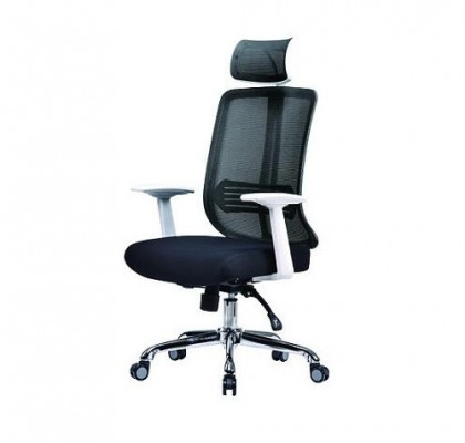Affordable Design Wide Seat Best Quality Ergonomic Computer Desk Mesh Office Chair With Fixed Armrests