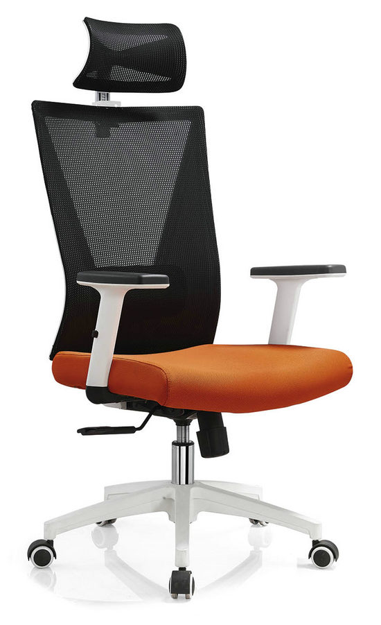 BIFMA Approved headrest office mesh chairs arm chairs ergonomic operators chair -1