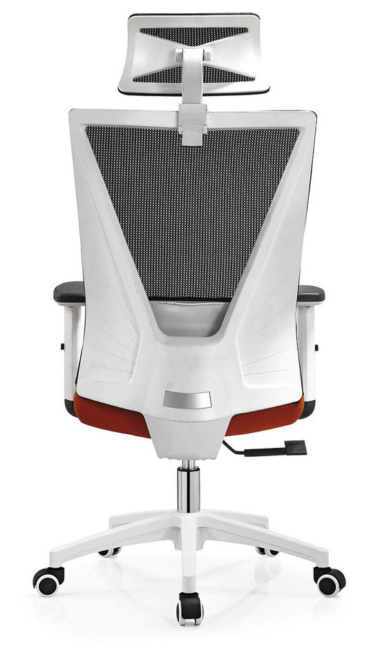 BIFMA Approved headrest office mesh chairs arm chairs ergonomic operators chair -3