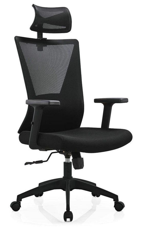 BIFMA Approved headrest office mesh chairs arm chairs ergonomic operators chair -5