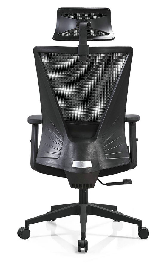 BIFMA Approved headrest office mesh chairs arm chairs ergonomic operators chair -6