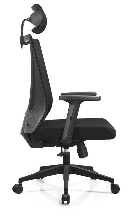 BIFMA Approved headrest office mesh chairs arm chairs ergonomic operators chair -7