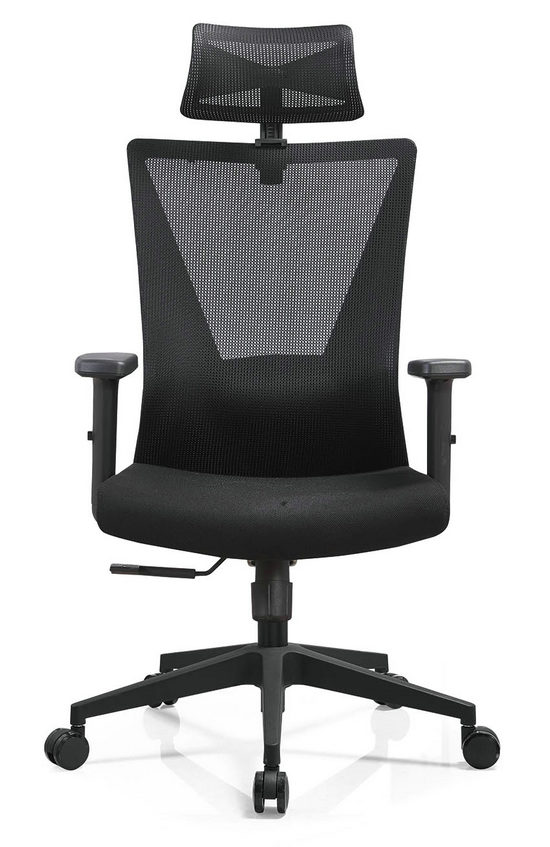 BIFMA Approved headrest office mesh chairs arm chairs ergonomic operators chair -8