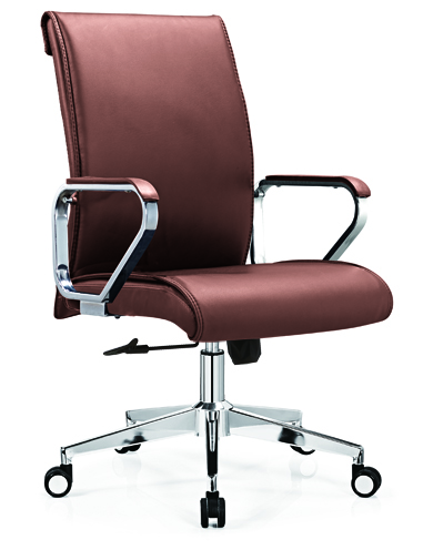 Best PU Leather Swivel Staff Office Chair -1