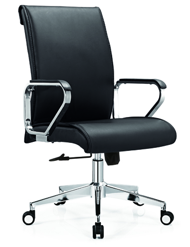 Best PU Leather Swivel Staff Office Chair -2