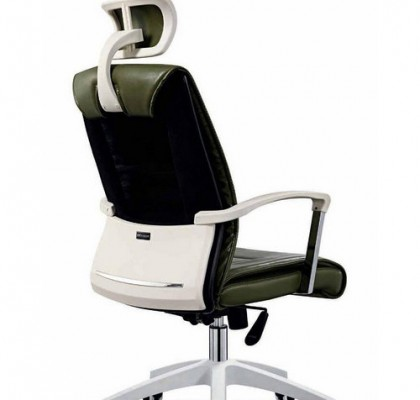 Hot sale Moving Soft PU Executive Leather Swivel Office Client Chair Staff Computer chairs