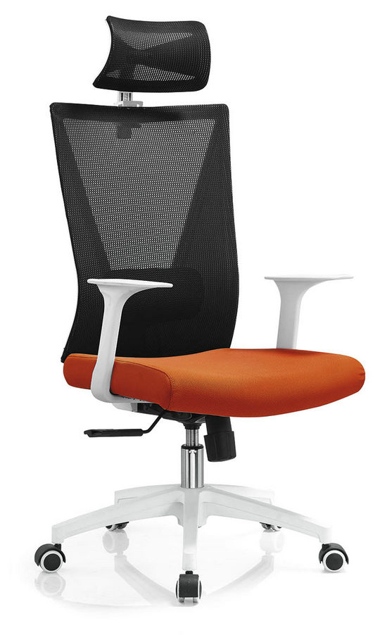 High Back Mesh with Wheels Swivel Office Furniture Computer Chair Smart Executive Chair -1