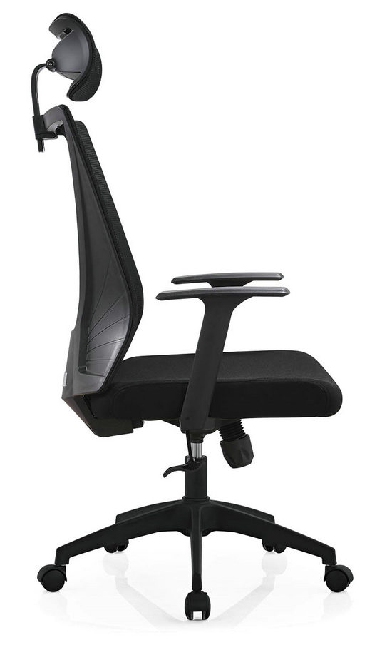 High Back Mesh with Wheels Swivel Office Furniture Computer Chair Smart Executive Chair -3
