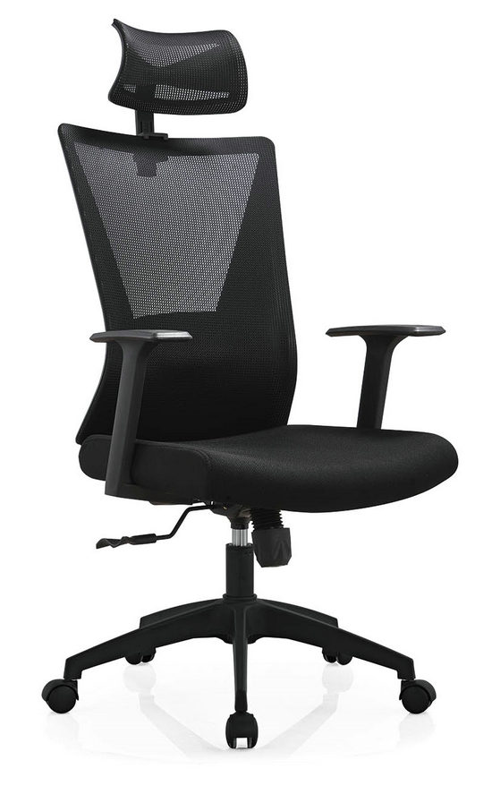 High Back Mesh with Wheels Swivel Office Furniture Computer Chair Smart Executive Chair -4