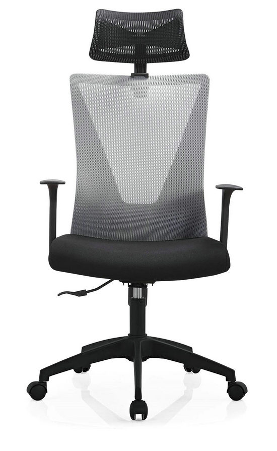 High Back Mesh with Wheels Swivel Office Furniture Computer Chair Smart Executive Chair -5