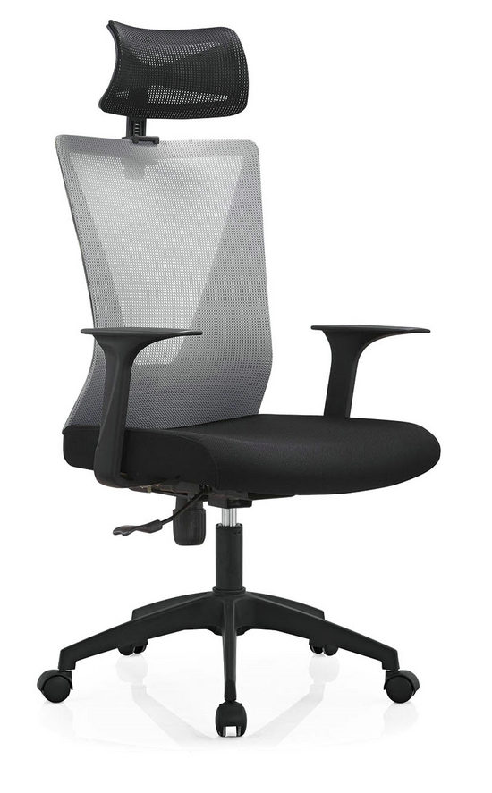 High Back Mesh with Wheels Swivel Office Furniture Computer Chair Smart Executive Chair -7