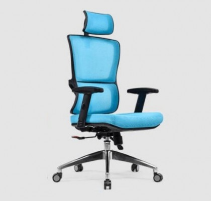 High Quality plastic ergonomic adjustable mesh back lumbar support manager executive boss office chair