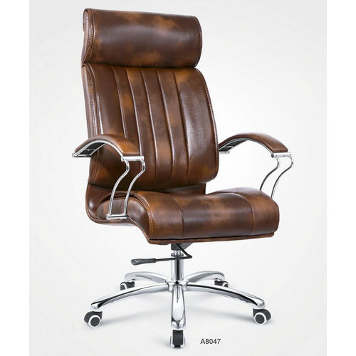 Latest New Leather Office Chair Ergonomic Big Office Chair -1
