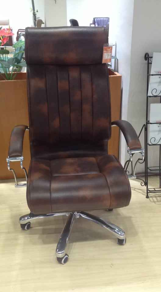 Latest New Leather Office Chair Ergonomic Big Office Chair -2
