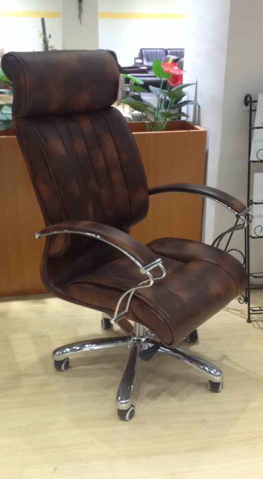 Latest New Leather Office Chair Ergonomic Big Office Chair -3