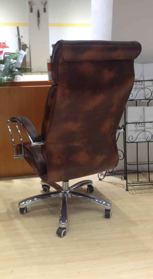 Latest New Leather Office Chair Ergonomic Big Office Chair -4