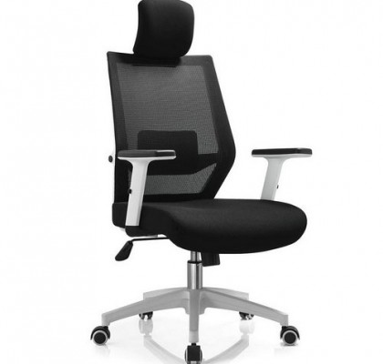 New style white plastic gaming computer office chair ergonomic mesh racing chairs with lumbar support