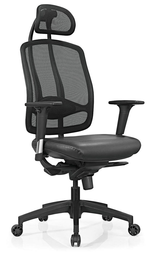 Office Executive Computer Chairs Mechanism Base Functional Strong Chairs -3