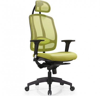 Luxury Mesh High Back Ergonomic Office Executive Computer Chairs Mechanism Base Functional Strong Chairs