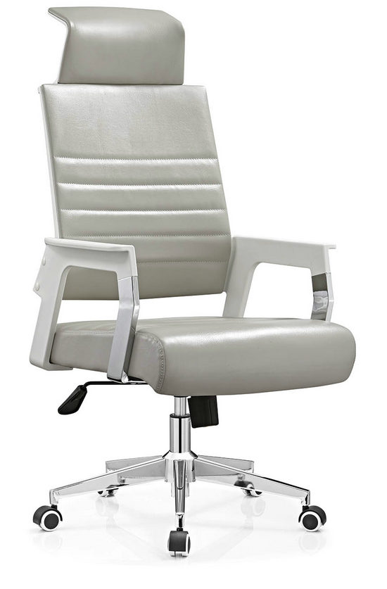 PU PVC office computer chair staff durable task chair on sale -2