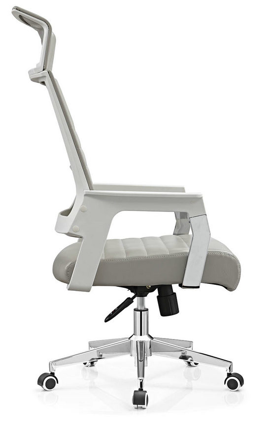 PU PVC office computer chair staff durable task chair on sale -3