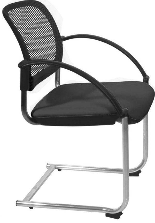 Popular mesh back conference meeting chair stackable visitor chair waiting room customer chairs -1