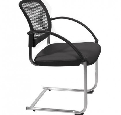 Popular mesh back conference meeting chair stackable visitor chair waiting room customer chairs