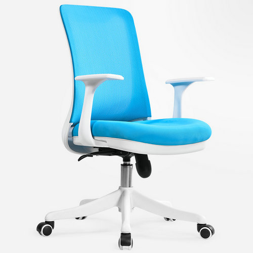 Professional staff computer office desk mid back task chair imported mesh best ergonomic conference chairs -1