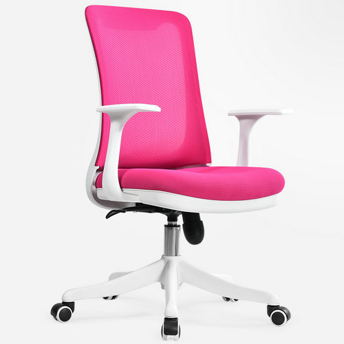 Professional staff computer office desk mid back task chair imported mesh best ergonomic conference chairs -5