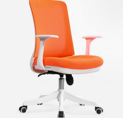 Professional staff computer office desk mid back task chair imported mesh best ergonomic conference chairs