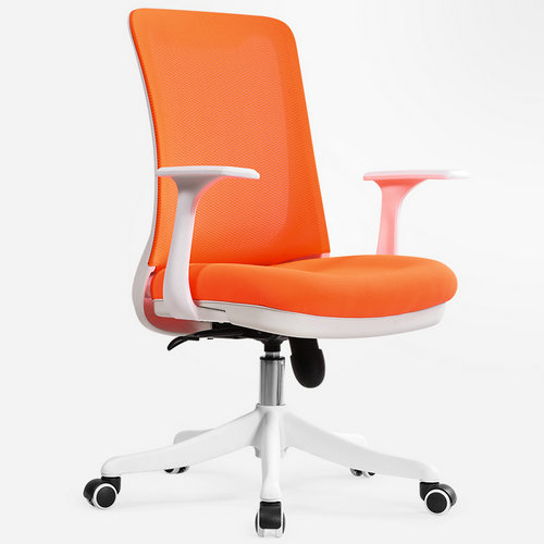 Professional staff computer office desk mid back task chair imported mesh best ergonomic conference chairs -6