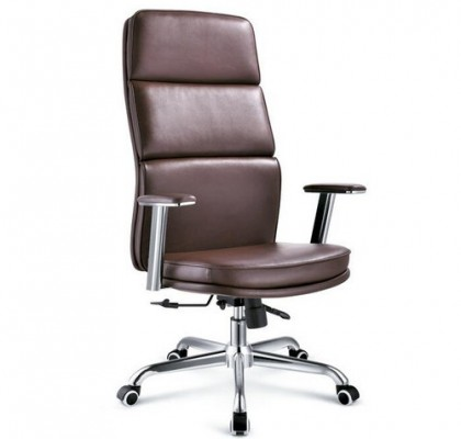 Modern Leather Ergonomic Height Adjustable Executive Chair High Back Office Chair Manager Chair