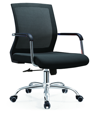 mesh staff operator chair swivel lift office computer chair for sale -1