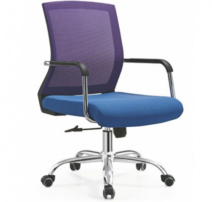 Ergonomic mesh staff operator chair swivel lift office computer chair for conference room