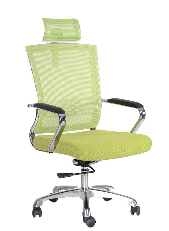 High Back Green Ergonomic Home Office Work Furniture Desk Swivel Mesh office Chair -1