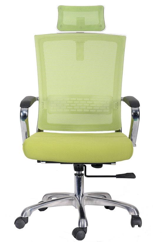 High Back Green Ergonomic Home Office Work Furniture Desk Swivel Mesh office Chair -2
