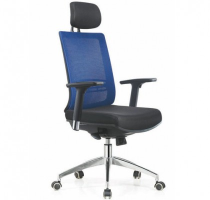 Modern computer chair racing seat high back swivel managerial mesh office chair with headrest