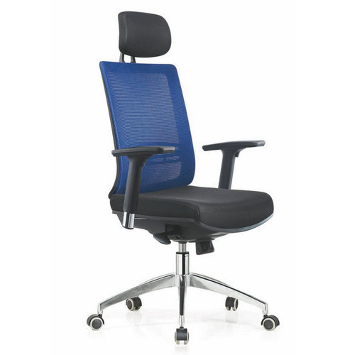 Modern computer chair racing seat high back swivel mesh office chair with headrest