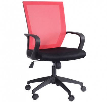 Modern various colors mesh staff chair swivel lift office computer chair commercial furniture for sale