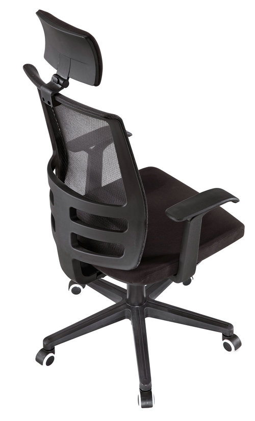 ergonomic high back mesh executive office chair with lumbar support for meeting room -2