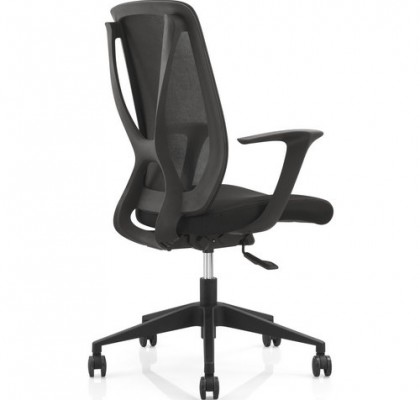 soft fabric new PP egonomic design sponge seat swivel mesh office chair computer chair