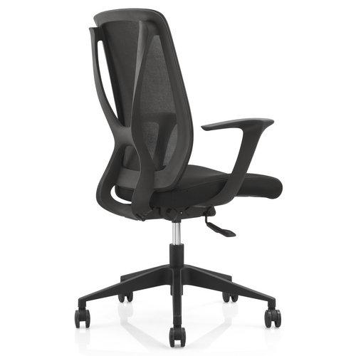 soft fabric new pp egonomic design sponge seat swivel mesh office