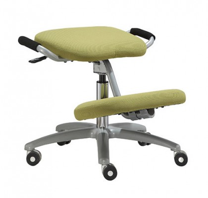 Adjustable home computer stool ergonomic fabric kneeling office chair for backache people