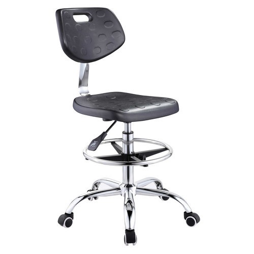 Cheap School Laboratory Room Industrial Chair Computer Lab Chair With Wheels -1
