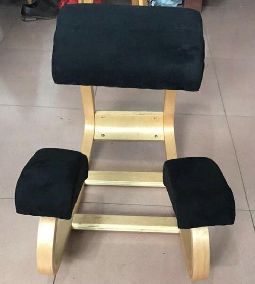 Correcting Siting Position Ergonomic Wood Kneeling Office Chair Stretch Knee Yoga Posture Seats -3