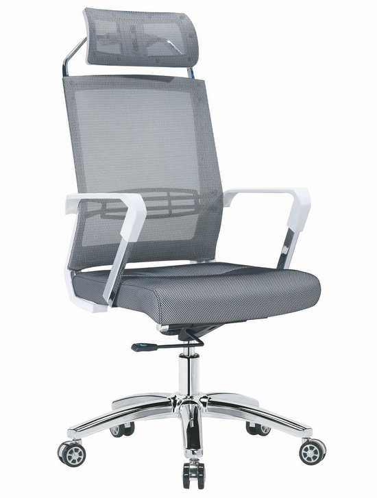 Factory direct full mesh high back ergonomic office chair with lumbar support -1
