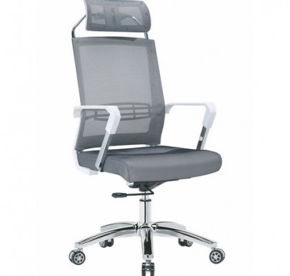 Factory direct full mesh high back ergonomic office chair with lumbar support