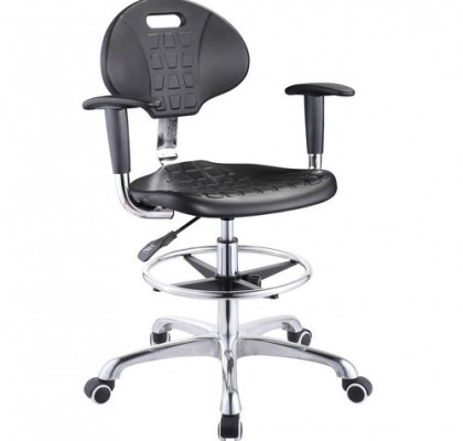 High quality lab stool chair adjustable stool with wheels lab laboratory chair round chair