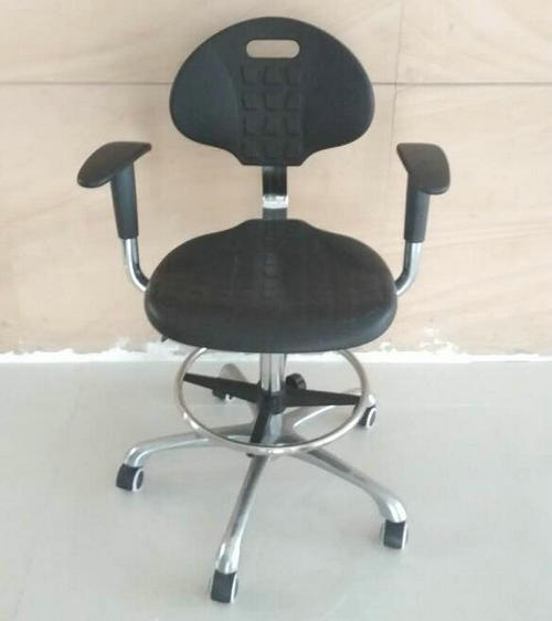 High quality lab stool chair adjustable stool with wheels lab laboratory chair round chair -2