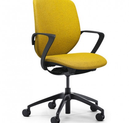 High quality new model fabric back office chairs staff swivel computer chairs office furniture